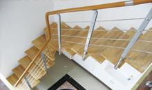 帝王时尚钢木楼梯