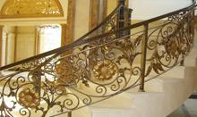 帝王铁艺楼梯 弧形楼梯